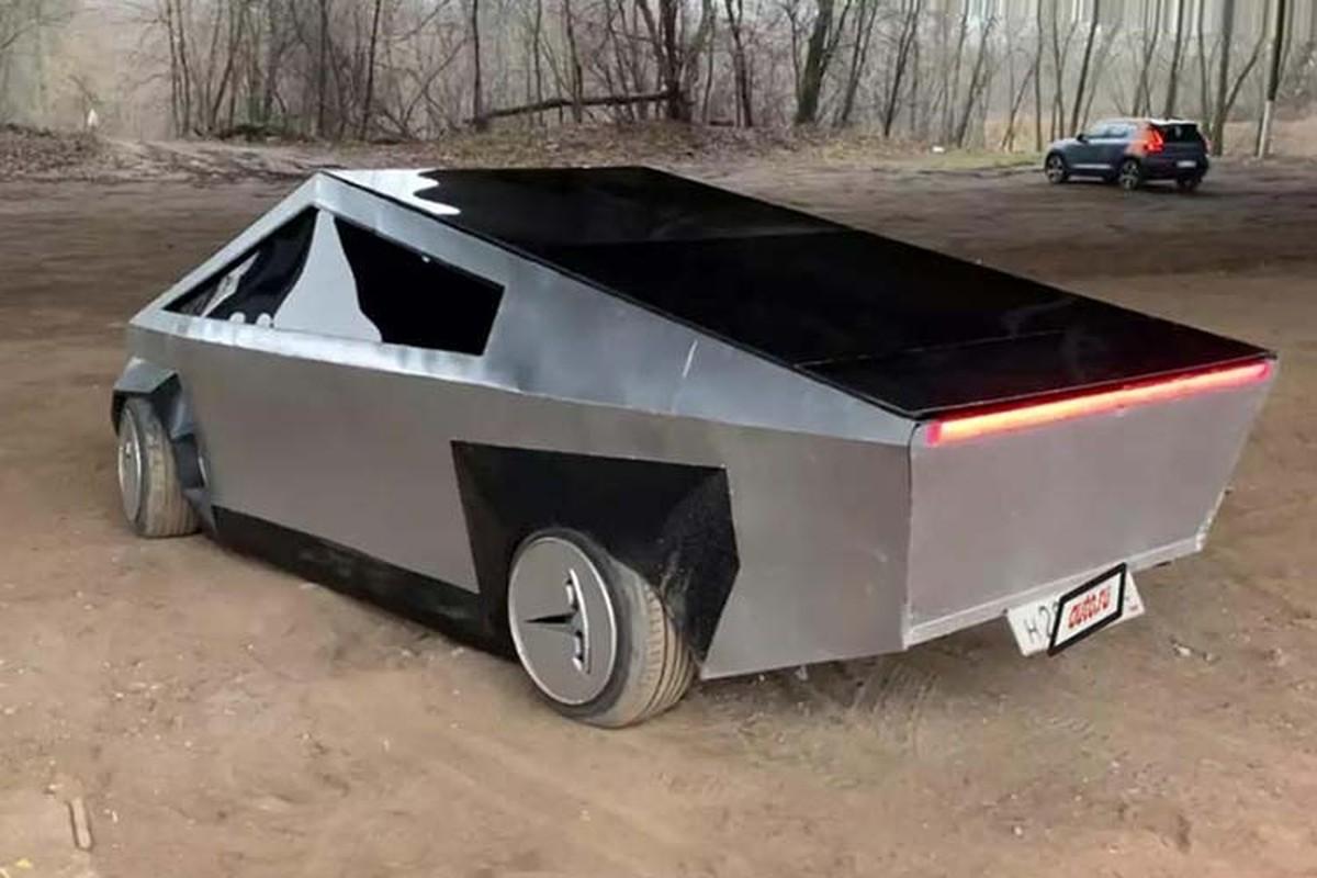 Rao ban xe Tesla Cybertruck