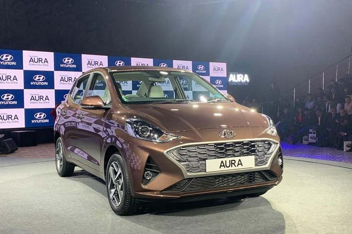 Hyundai Aura 2020 chi tu 189 trieu dong tai An Do