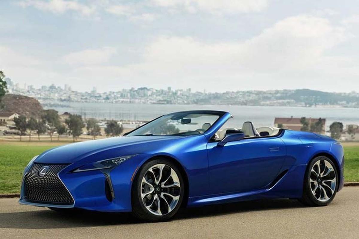 Lexus LC500 Convertible ban thuong mai dau tien hon 46 ty dong-Hinh-3