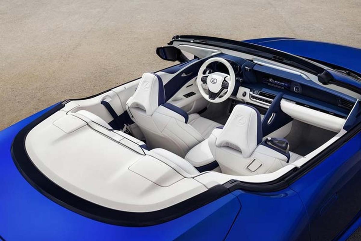 Lexus LC500 Convertible ban thuong mai dau tien hon 46 ty dong-Hinh-6