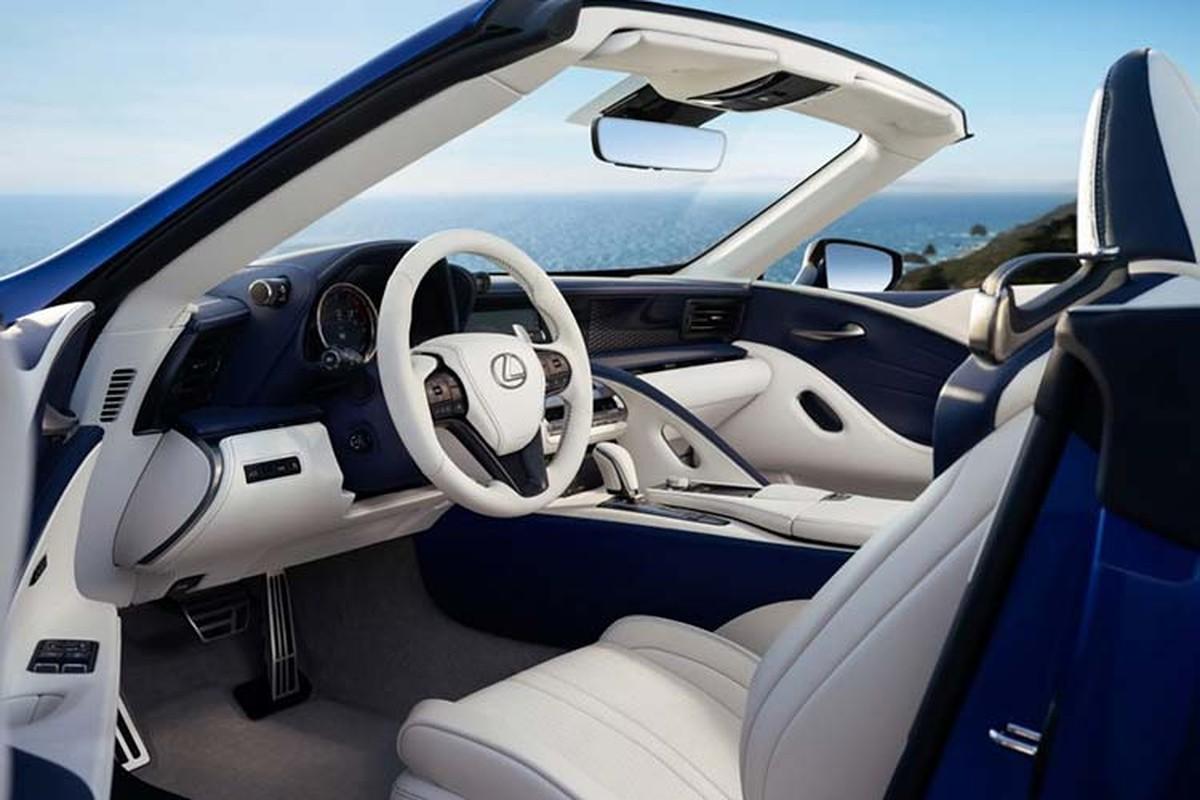 Lexus LC500 Convertible ban thuong mai dau tien hon 46 ty dong-Hinh-7
