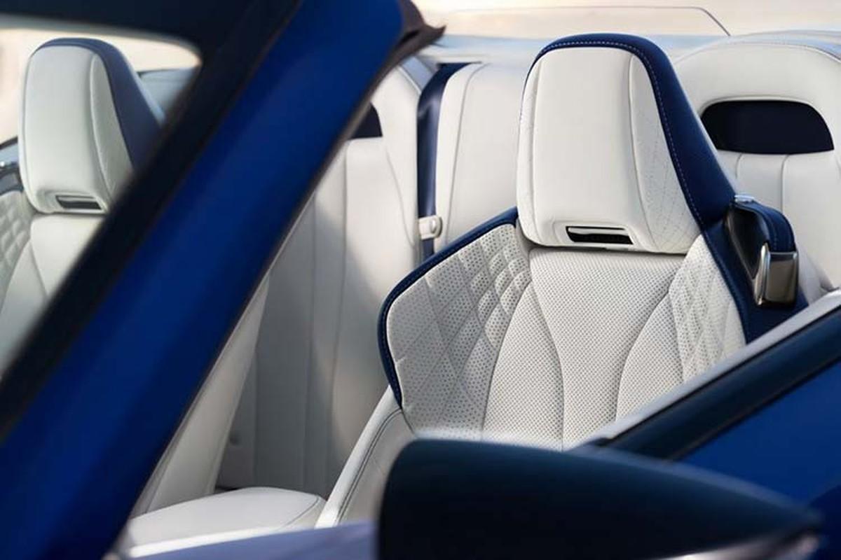 Lexus LC500 Convertible ban thuong mai dau tien hon 46 ty dong-Hinh-8