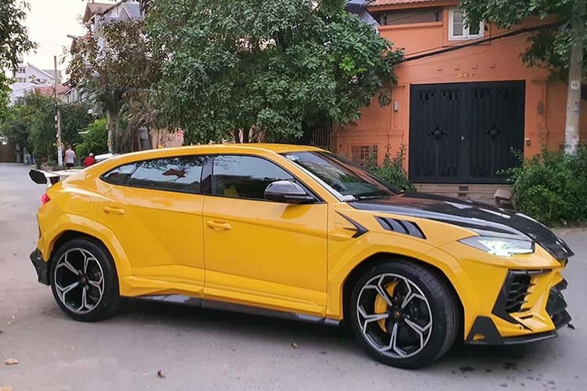 Sieu SUV Lamborghini Urus hon 20 ty do Mansory o Sai Gon-Hinh-11
