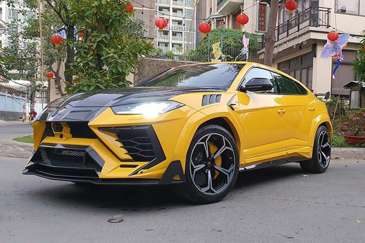 Sieu SUV Lamborghini Urus hon 20 ty do Mansory o Sai Gon