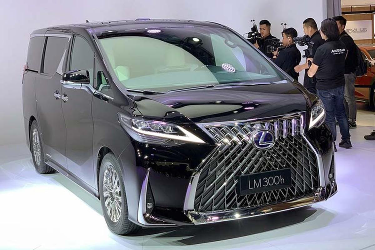 MPV hang sang Lexus LM 2020 tu 4 ty dong tai Dong Nam A
