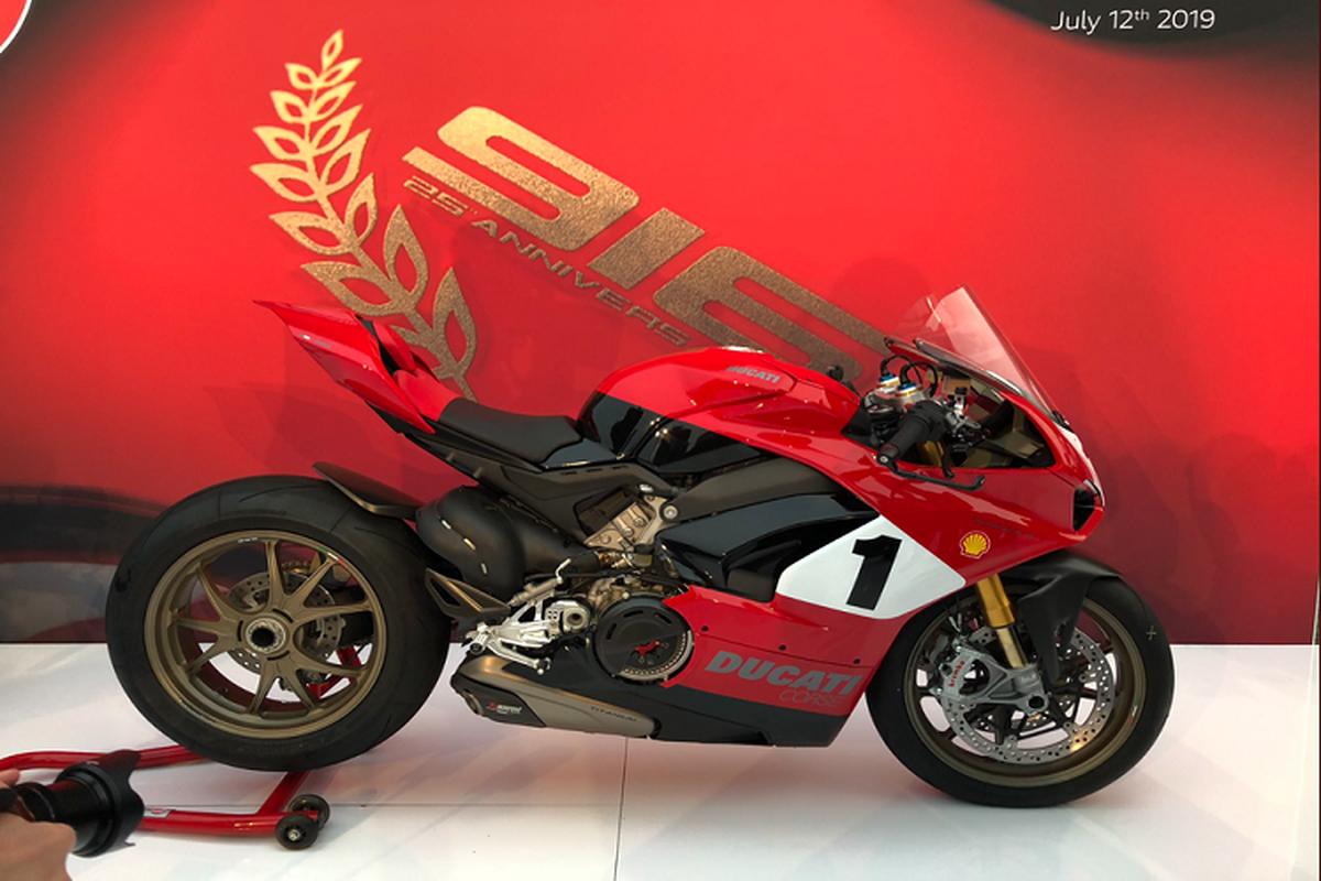 Sieu moto Ducati Panigale V4 25th hon 2 ty dong tai Malaysia-Hinh-2