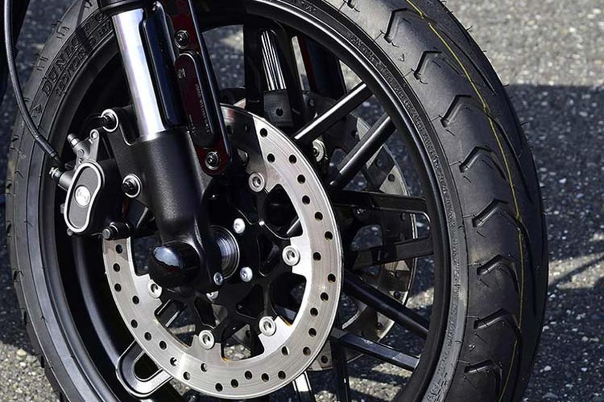 Harley-Davidson Cafe Racer do hoan my tu XL1200CX Roadster-Hinh-7