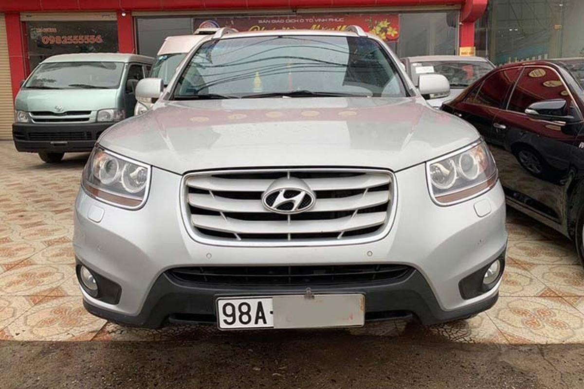 Hyundai Santa Fe SLX dung hon 10 nam ban hon 600 trieu dong-Hinh-3