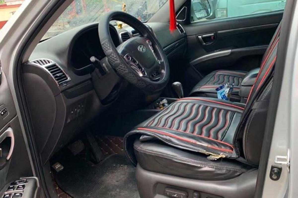 Hyundai Santa Fe SLX dung hon 10 nam ban hon 600 trieu dong-Hinh-5