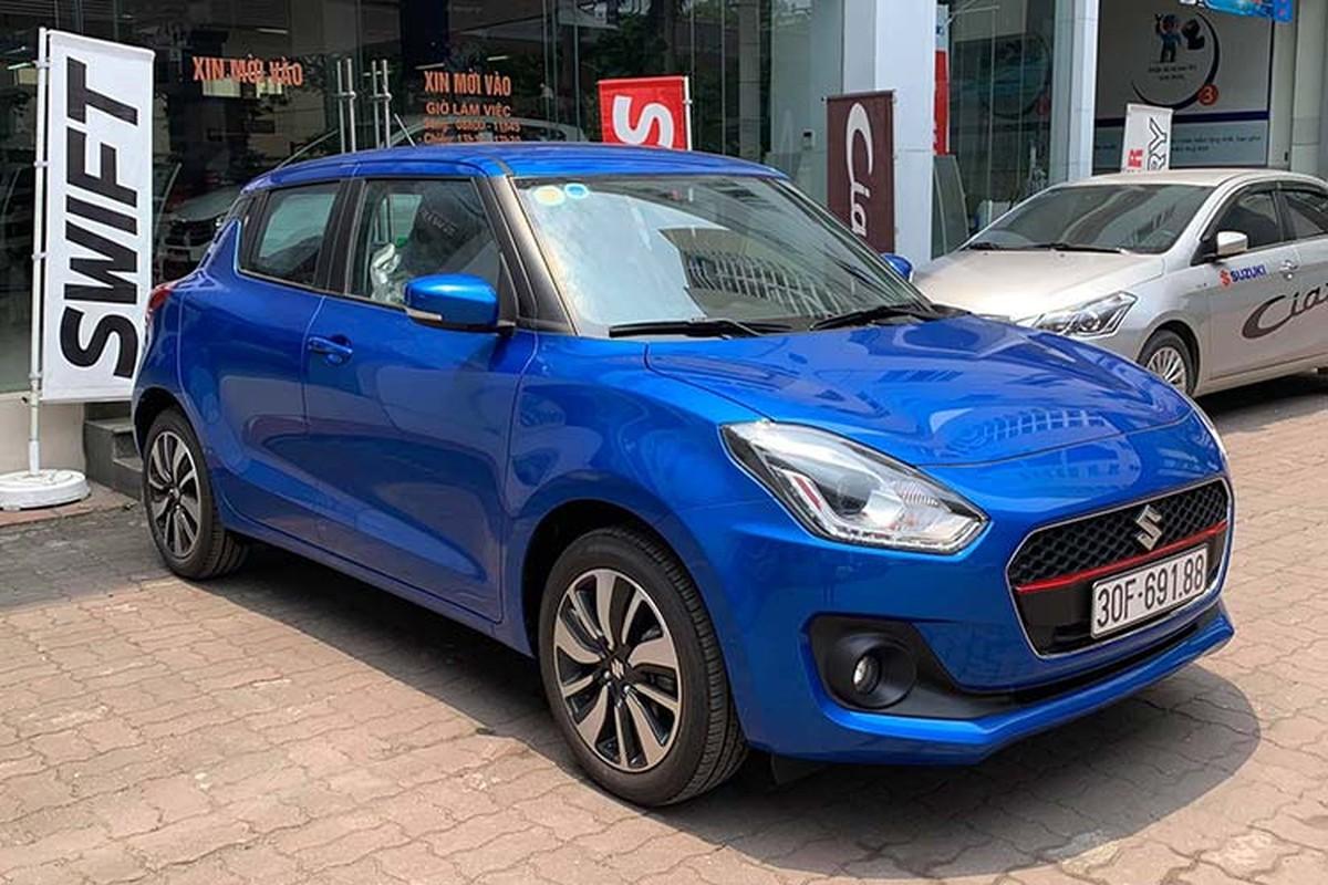 Top xe e nhat Viet Nam thang 2/2020 - Suzuki Swift doi so-Hinh-2