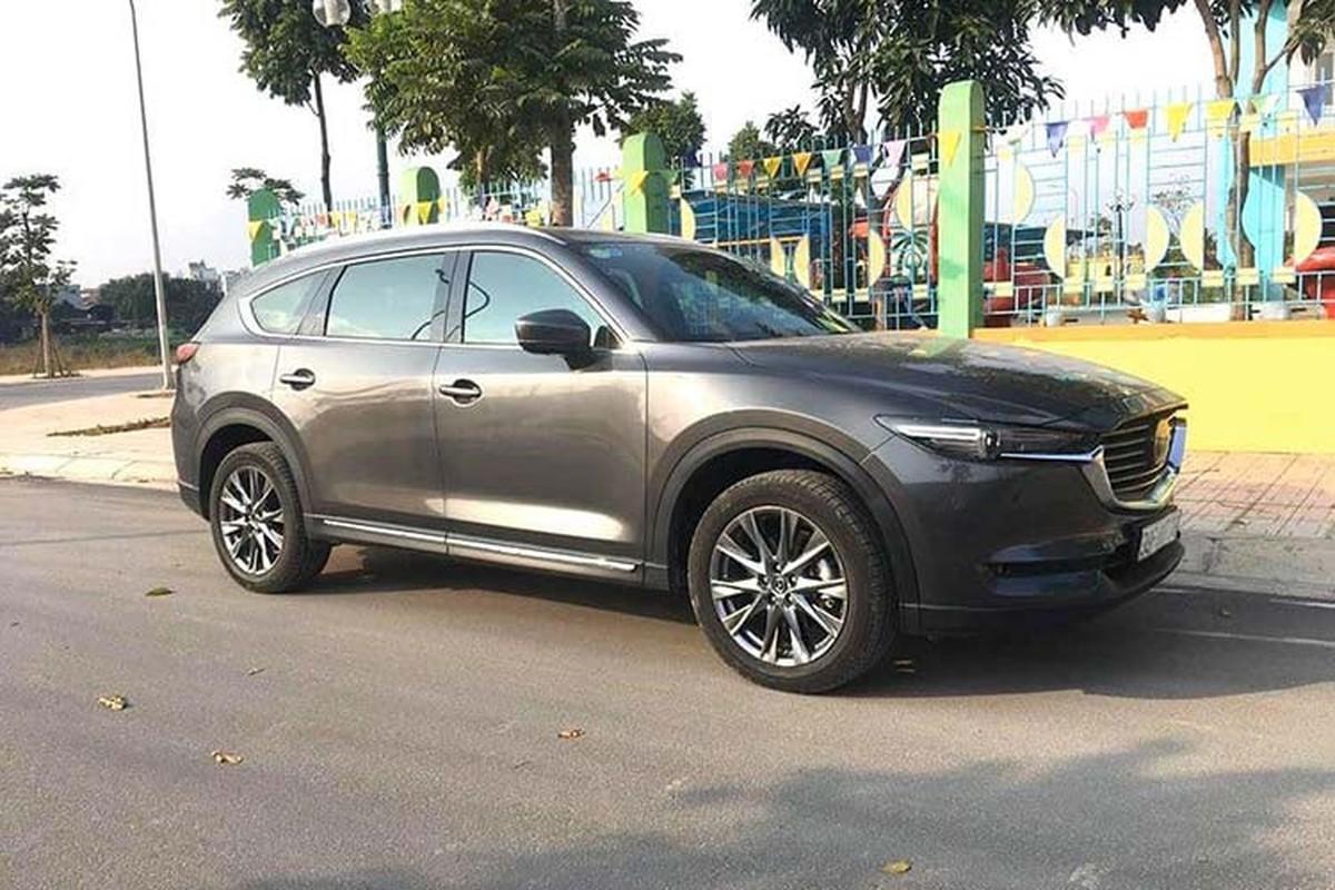 Mazda CX-8 gia tu 1,15 ty co gi de canh tranh o 'san choi' SUV 7 cho