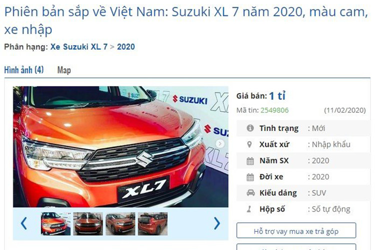 Dai ly thet gia Suzuki XL7 2020 nhap khau toi 1 ty dong-Hinh-3