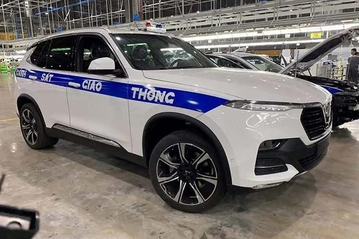 Xuat hien bo doi xe VinFast Lux danh cho CSGT Viet Nam