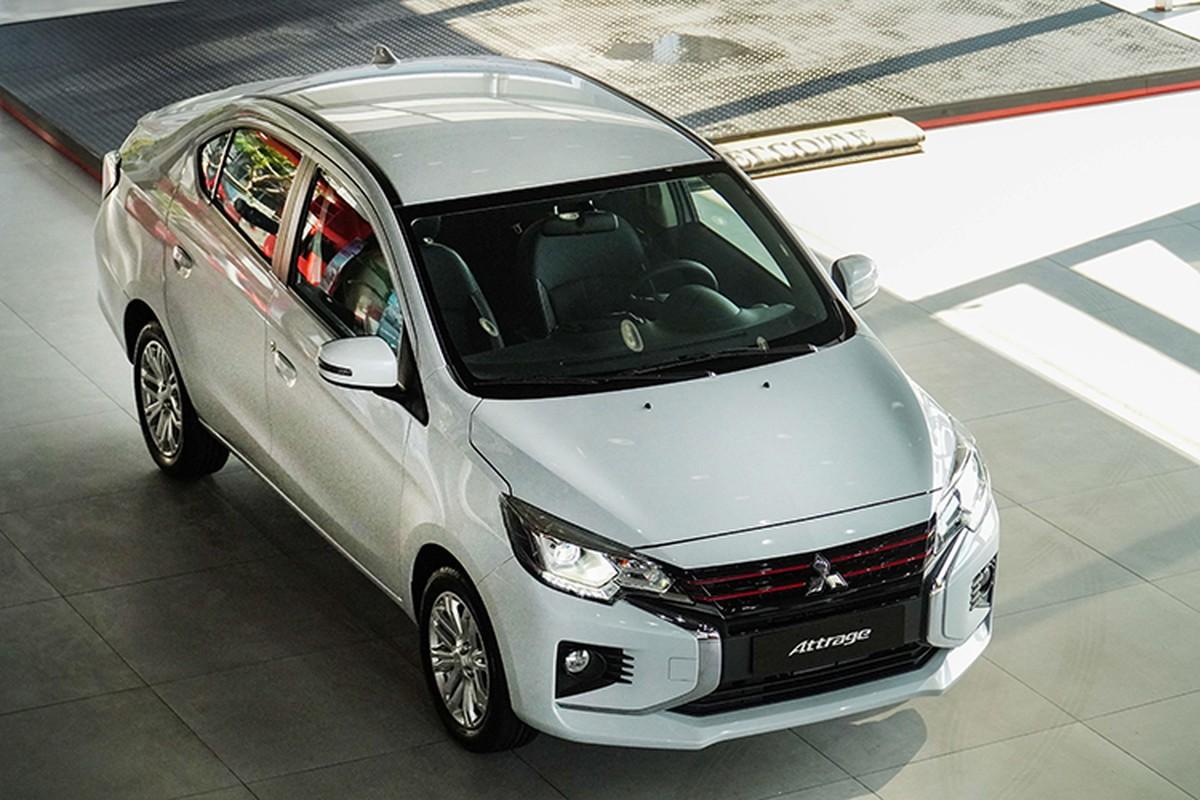 Xe gia re Mitsubishi Attrage 2020 tu 375 trieu tai Viet Nam-Hinh-13