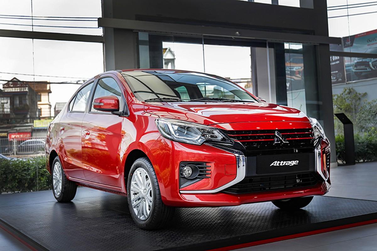Xe gia re Mitsubishi Attrage 2020 tu 375 trieu tai Viet Nam