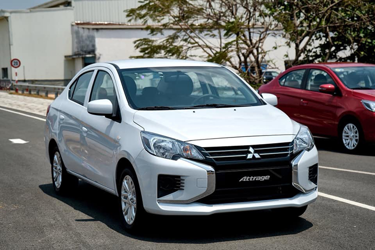 Can canh Mitsubishi Attrage so san chi 375 trieu tai Viet Nam