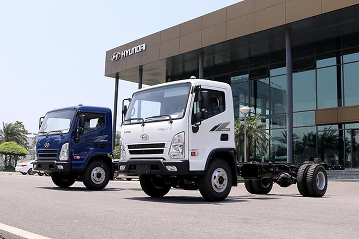 Ra mat Hyundai Mighty EX8 GT moi tu 695 trieu tai Viet Nam