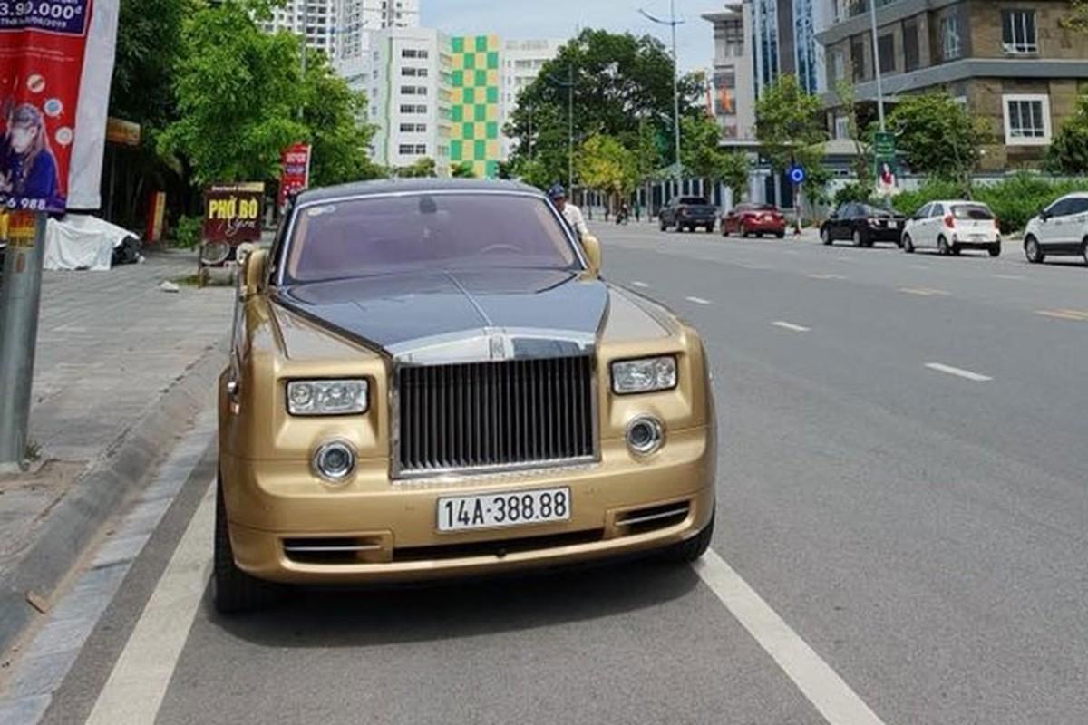 Rolls-Royce Phantom ma vang cua dai gia Quang Ninh chay rui-Hinh-3