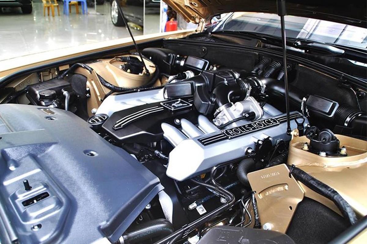 Rolls-Royce Phantom ma vang cua dai gia Quang Ninh chay rui-Hinh-7
