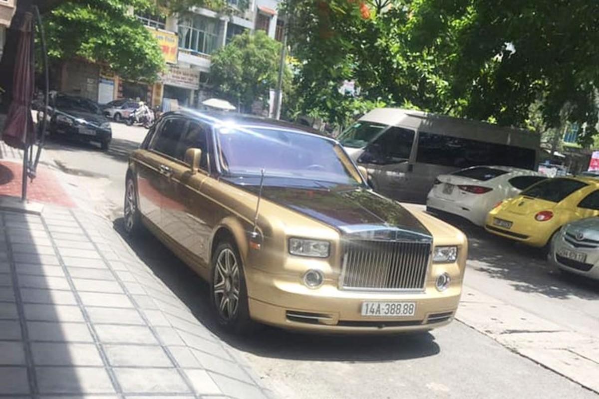 Rolls-Royce Phantom ma vang cua dai gia Quang Ninh chay rui-Hinh-9