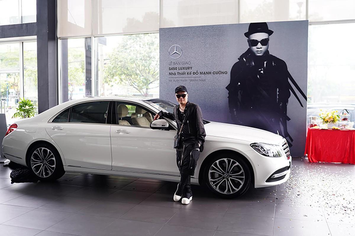NTK Do Manh Cuong tau Mercedes-Benz S450L Luxury gan 5 ty