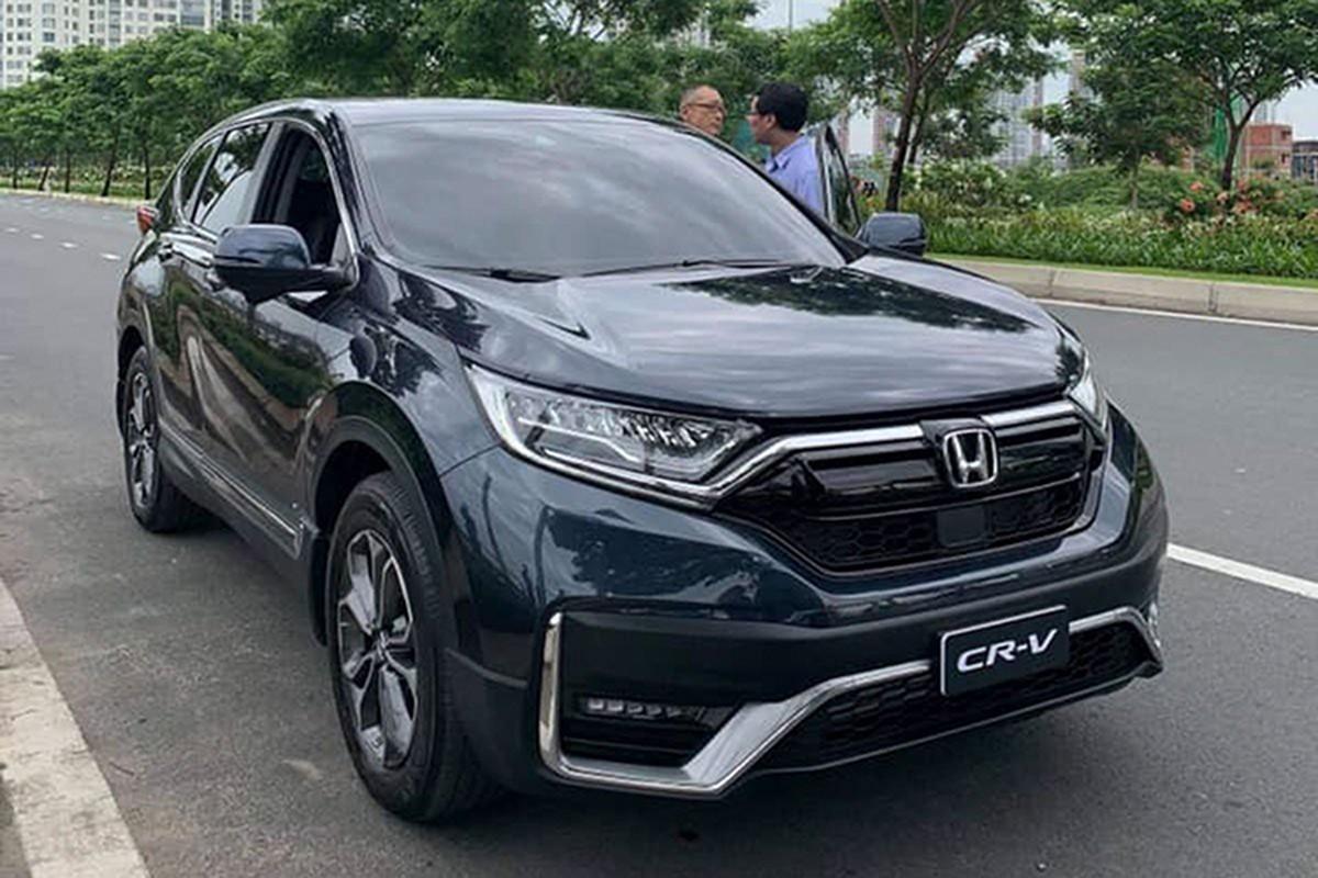 Honda CR-V 2020 ban lap rap lan dau xuat hien tren pho Viet-Hinh-2