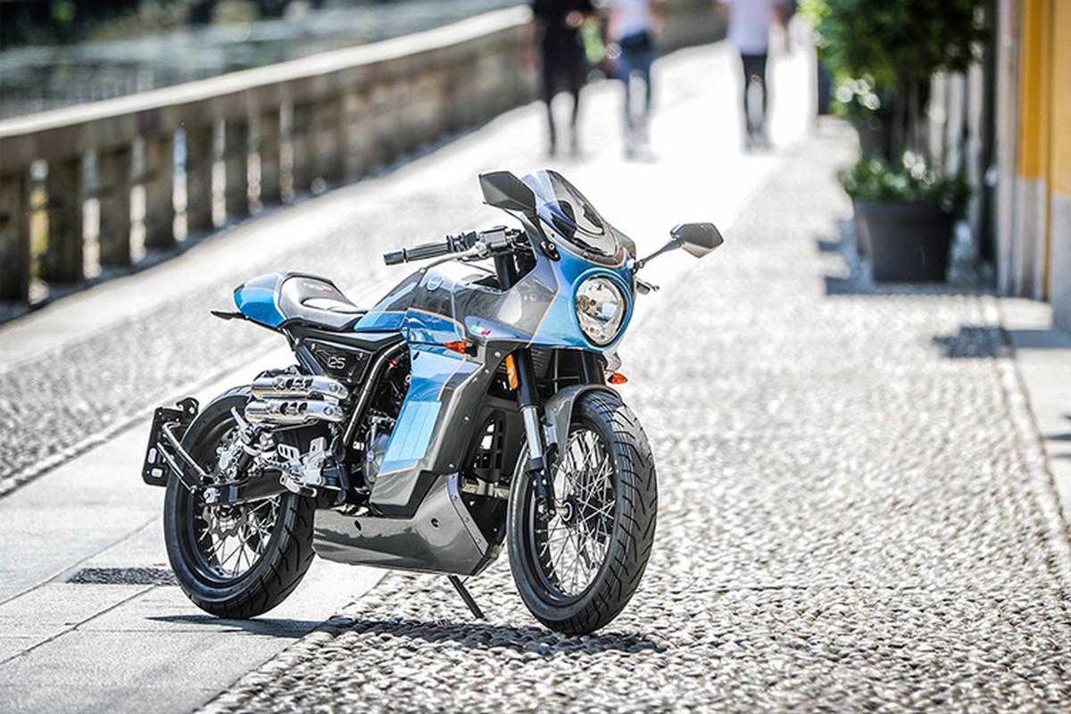 Ngam moto Aprilia Pagani 150 Cafe Racer chi 71,6 trieu dong-Hinh-3