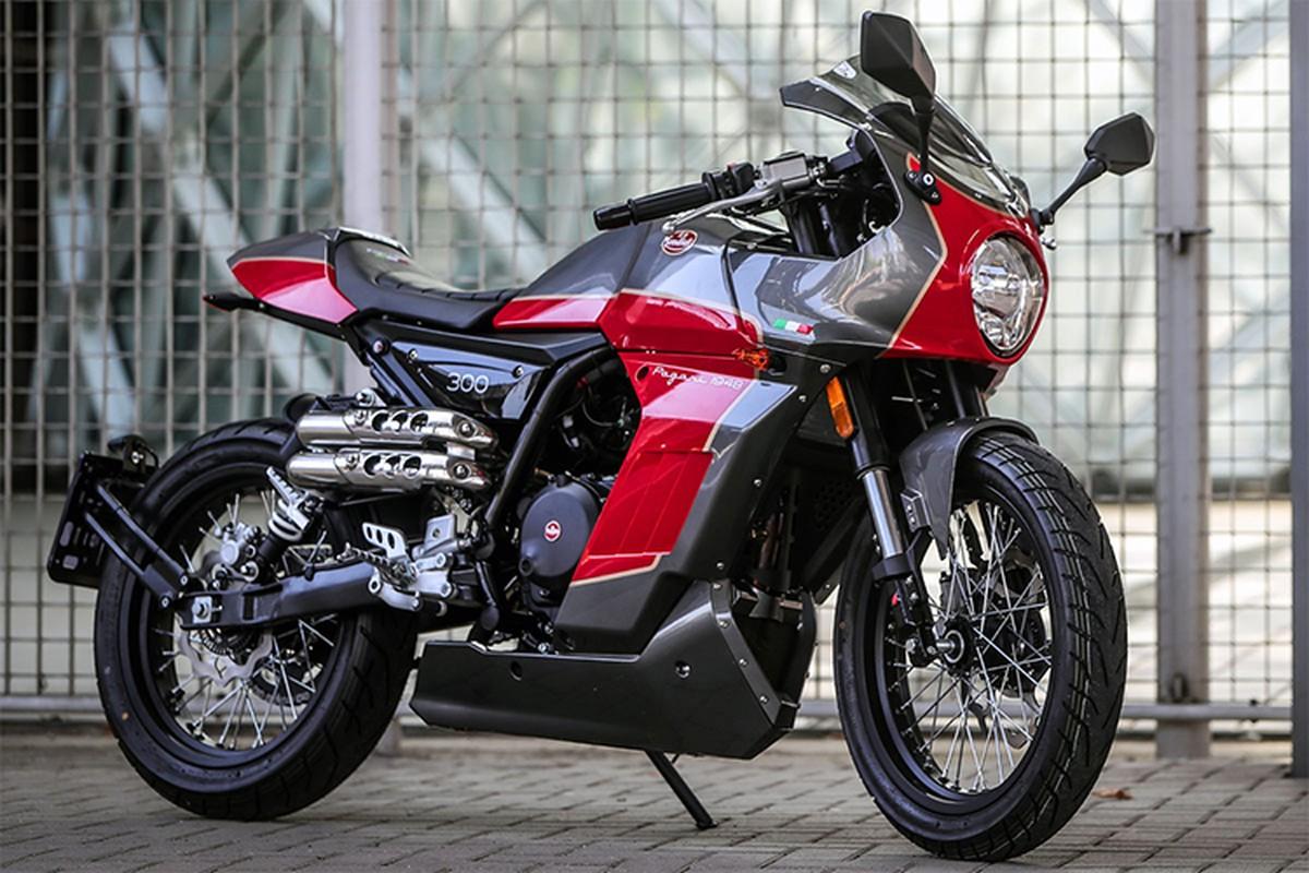 Ngam moto Aprilia Pagani 150 Cafe Racer chi 71,6 trieu dong-Hinh-7