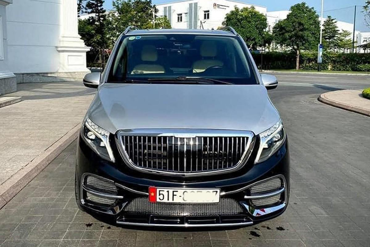 Chi tiet Mercedes-Benz V-Class do Maybach hon 2,2 ty o Sai Gon