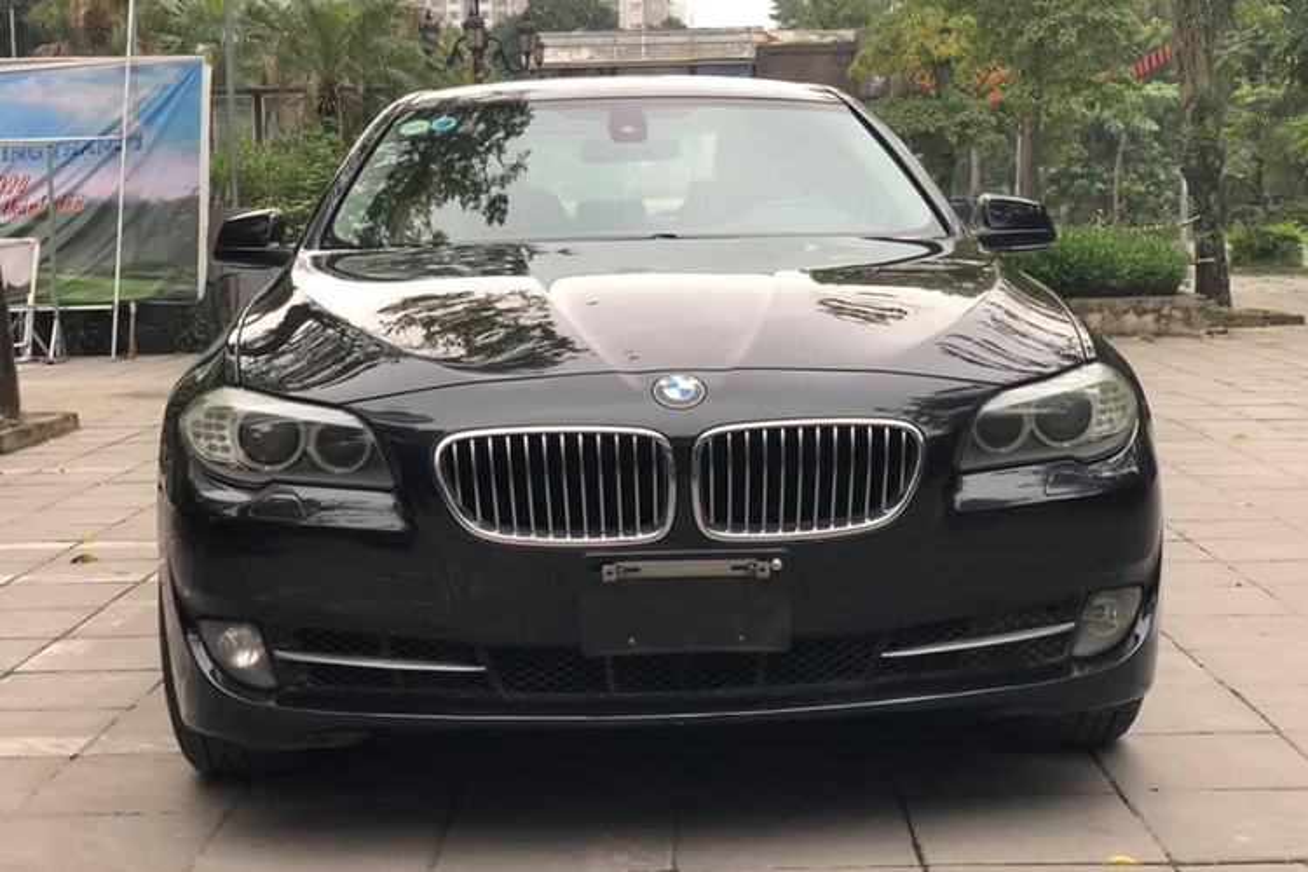 Xe sang BMW 520i dung 7 nam ban 900 trieu o Ha Noi-Hinh-3