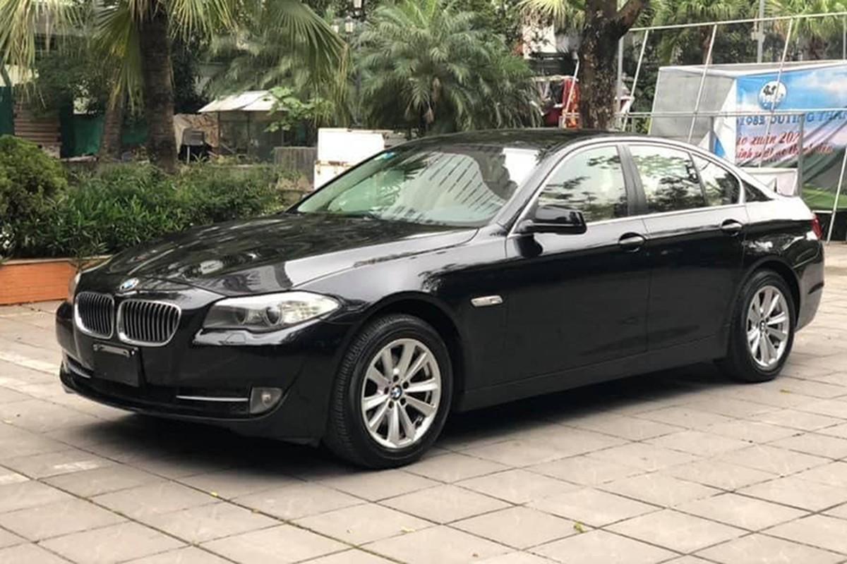 Xe sang BMW 520i dung 7 nam ban 900 trieu o Ha Noi-Hinh-8