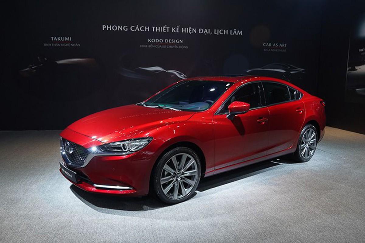 Mazda6 2020, dat nhat chi hon 1,1 ty dong tai Viet Nam