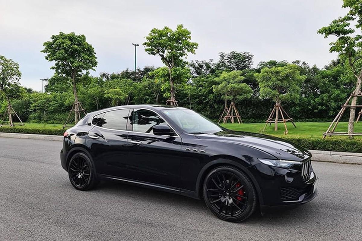 Maserati Levante chay 7 thang, dai gia Sai Gon