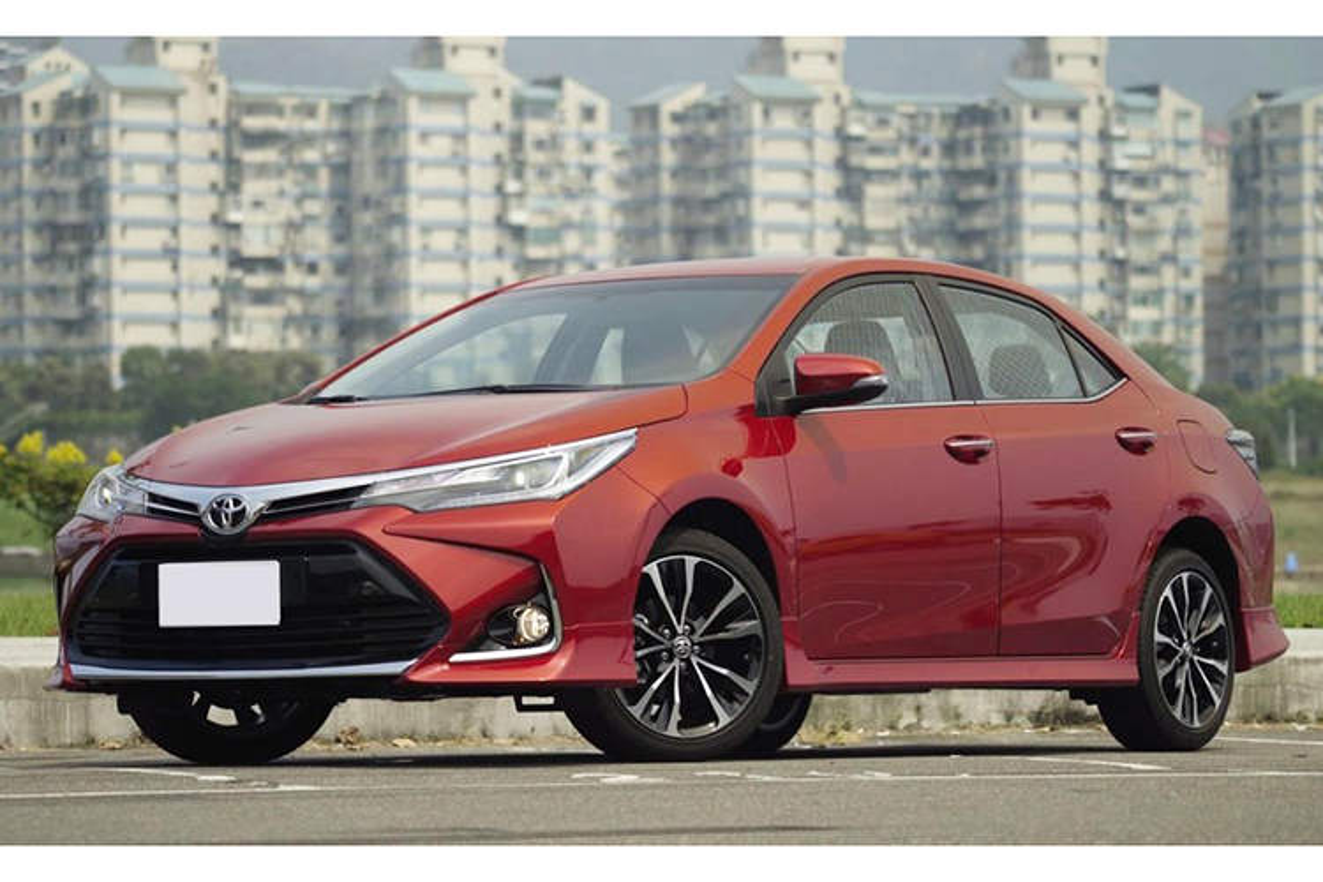 Toyota Corolla Altis 2020 khoang 700 trieu dong tai Viet Nam?