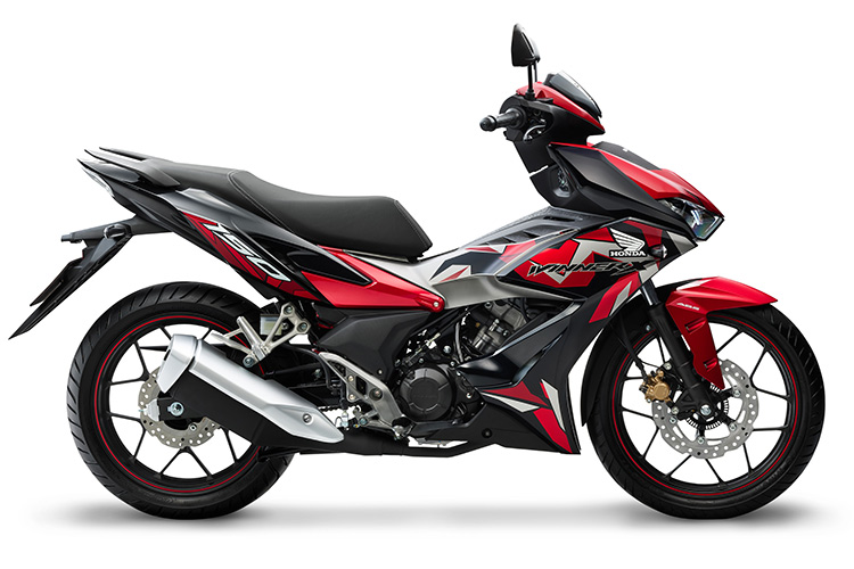 Honda nang cap Winner X,
