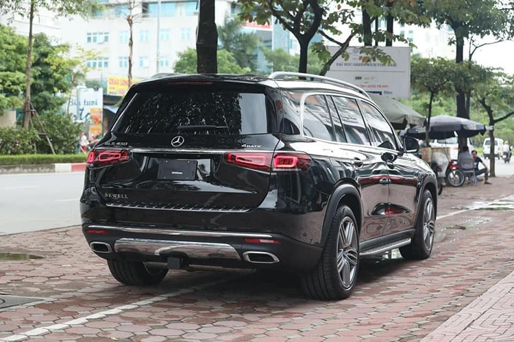 Can canh Mercedes-Benz GLS 450 nhap My, hon 6 ty o Ha Noi-Hinh-2