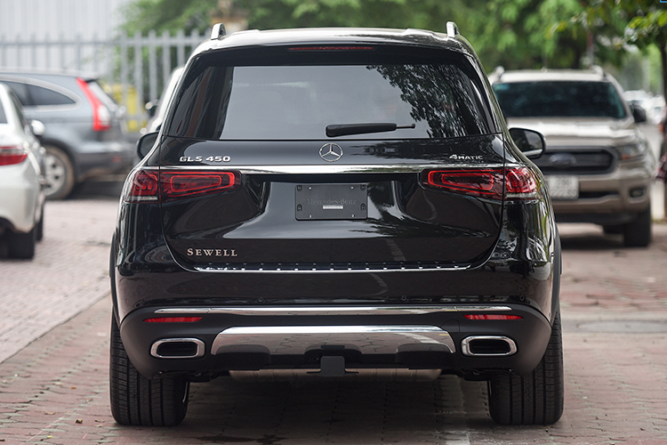 Can canh Mercedes-Benz GLS 450 nhap My, hon 6 ty o Ha Noi-Hinh-4