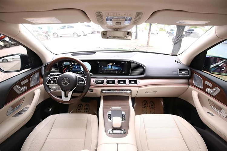 Can canh Mercedes-Benz GLS 450 nhap My, hon 6 ty o Ha Noi-Hinh-5