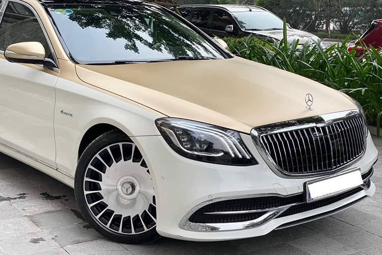 Mercedes-Benz S400 do sieu sang Maybach hon 2 ty o Ha Noi-Hinh-10