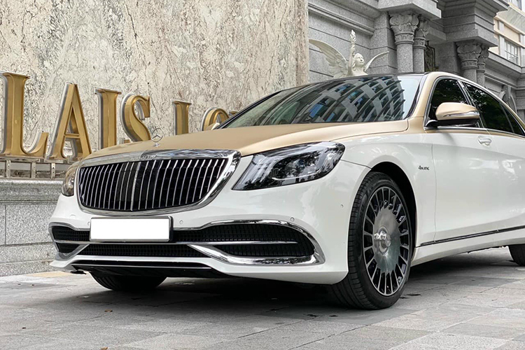 Mercedes-Benz S400 do sieu sang Maybach hon 2 ty o Ha Noi-Hinh-3