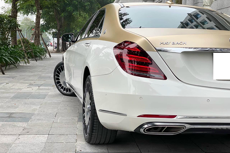 Mercedes-Benz S400 do sieu sang Maybach hon 2 ty o Ha Noi-Hinh-4