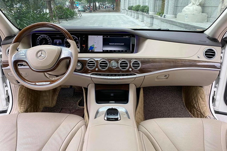 Mercedes-Benz S400 do sieu sang Maybach hon 2 ty o Ha Noi-Hinh-5