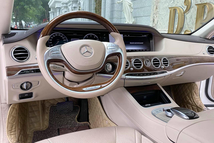 Mercedes-Benz S400 do sieu sang Maybach hon 2 ty o Ha Noi-Hinh-6