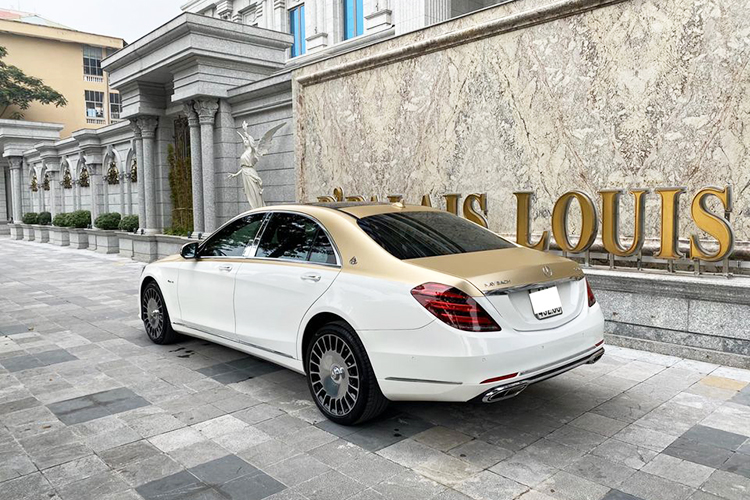 Mercedes-Benz S400 do sieu sang Maybach hon 2 ty o Ha Noi-Hinh-9
