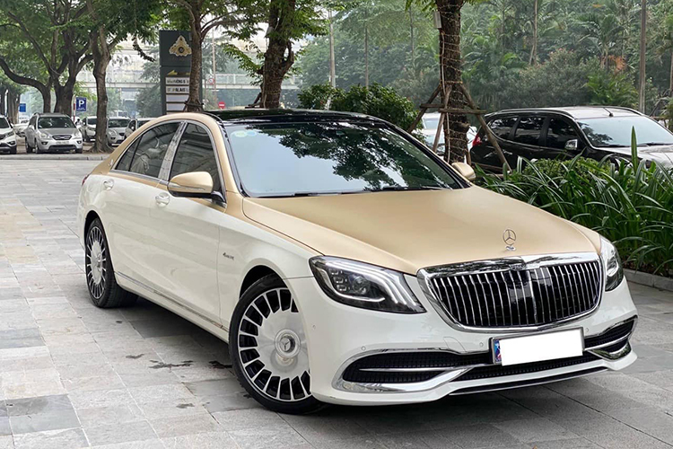 Mercedes-Benz S400 do sieu sang Maybach hon 2 ty o Ha Noi