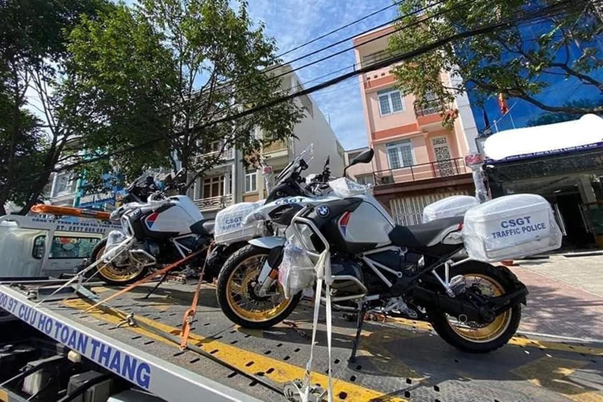Chi tiet BMW R1250GSA HP gan 700 trieu cua CSGT Viet Nam