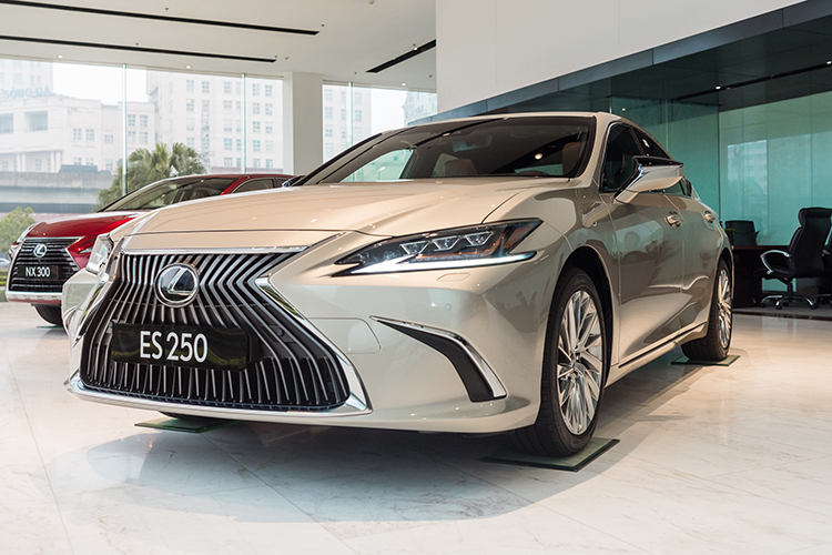 Can canh xe sang Lexus ES 2021 tu 2,54 ty tai Viet Nam-Hinh-11