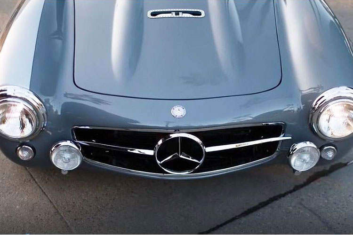 Mercedes-Benz 300 SL 1954 phuc che cuc doc, cuc hiem-Hinh-3