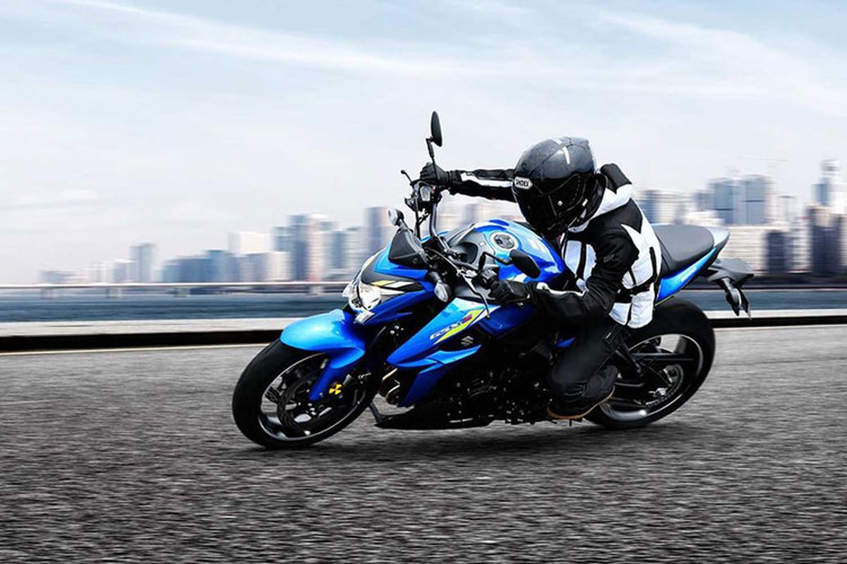 Ra mat Suzuki GSX-S1000 2021 gan 400 trieu dong tai Viet Nam-Hinh-6
