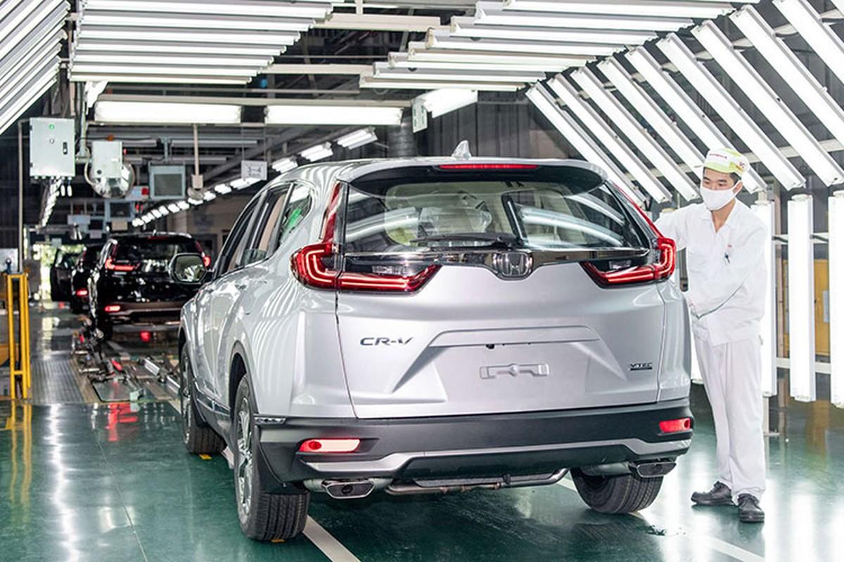 Top oto ban chay nhat thang 12/2020, Honda CR-V len dinh-Hinh-7